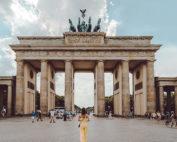 Das Brandenburger Tor am Pariser Platz