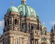 Der Berliner Dom und der Fernsehturm
